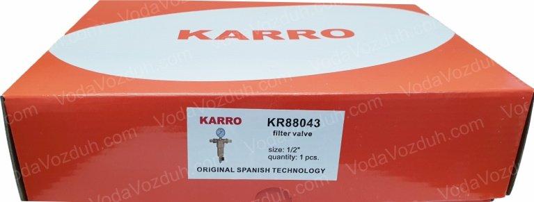 "Karro KR88043 1/2"" коробка с этикеткой"