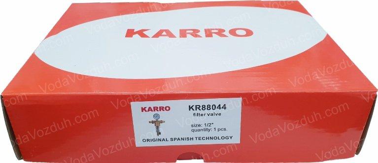 "Karro KR88044 1/2"" коробка с этикеткой"