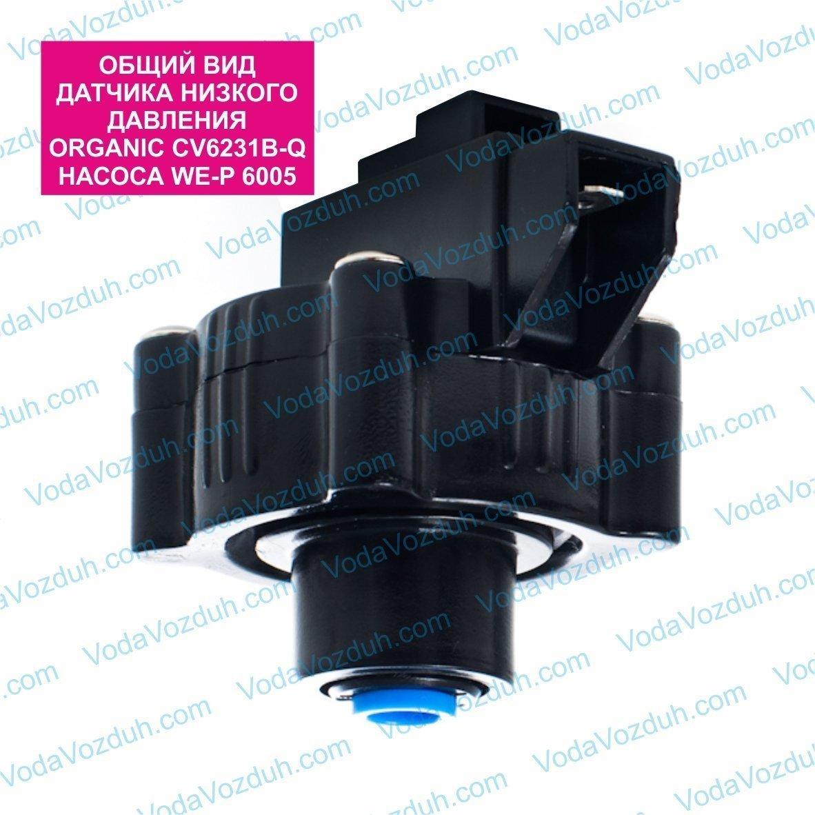 Organic WE-P 6005 датчик низкого давления