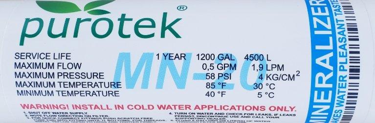 Purotek MN-20QC минерализатор